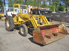 construction equipment tractor backhoes